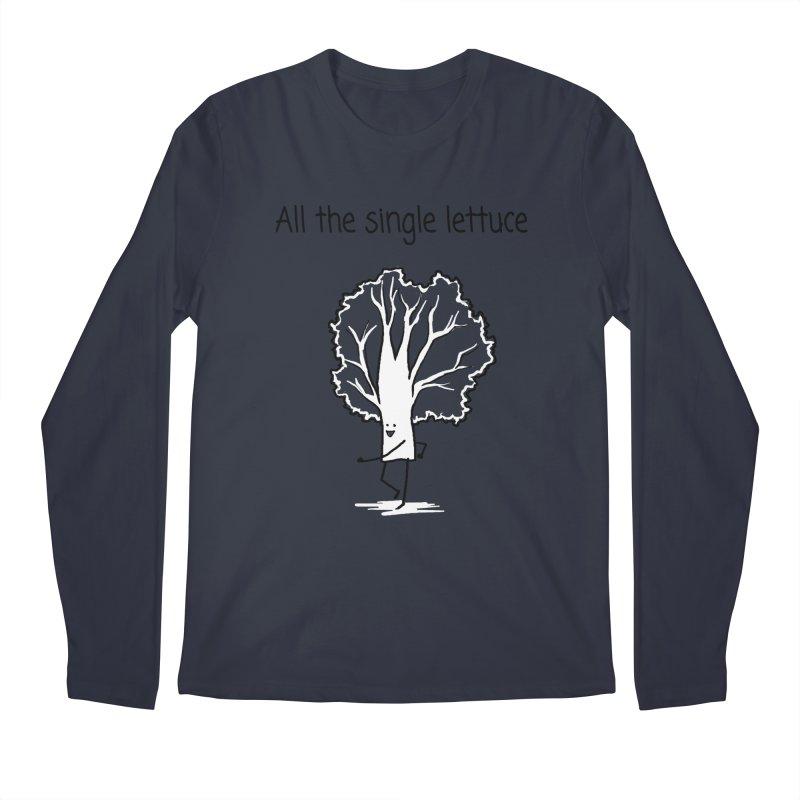 All the single lettuce Men's Longsleeve T-Shirt by 1 OF MANY LAURENS