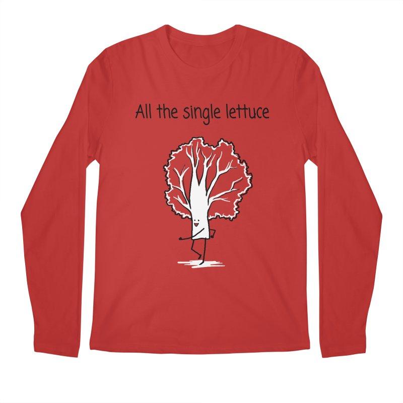 All the single lettuce Men's Regular Longsleeve T-Shirt by 1 OF MANY LAURENS
