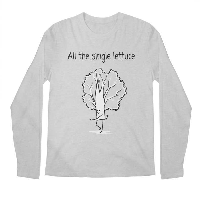 All the single lettuce Men's Regular Longsleeve T-Shirt by 1 OF MANY LAURENS