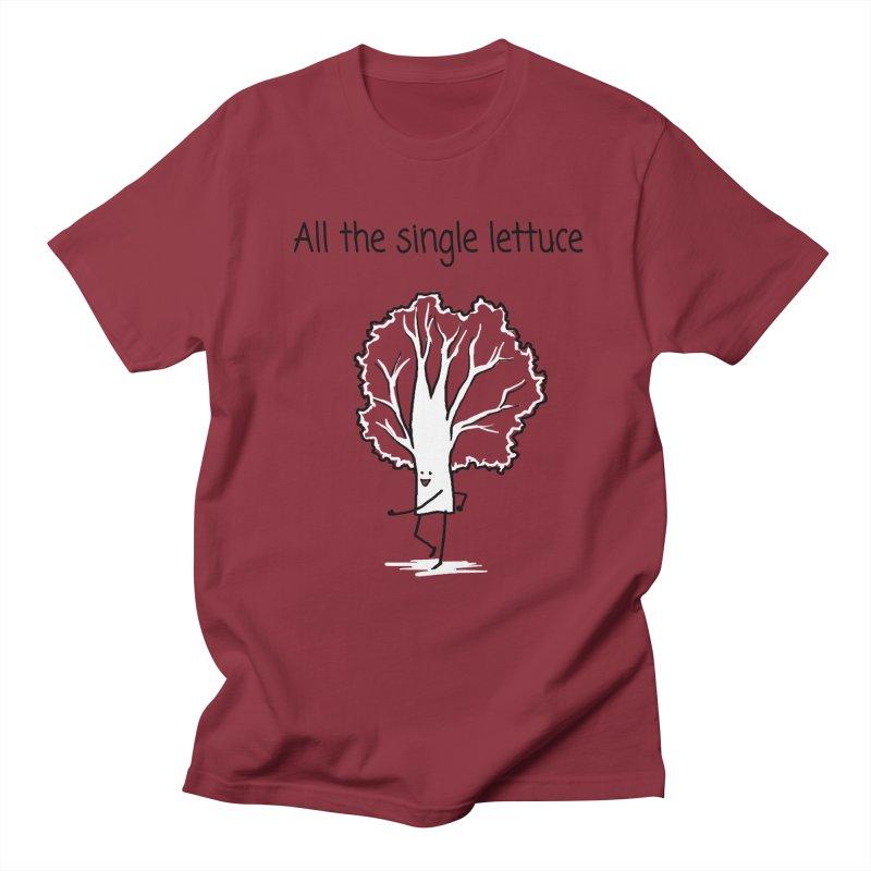 All the single lettuce Men's Regular T-Shirt by 1 OF MANY LAURENS
