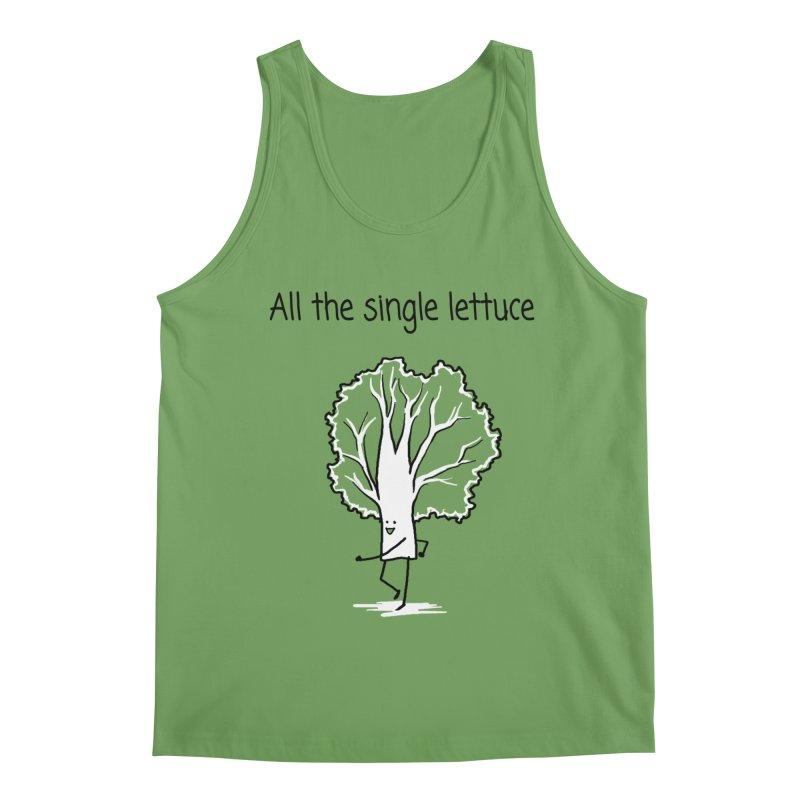 All the single lettuce Men's Tank by 1 OF MANY LAURENS