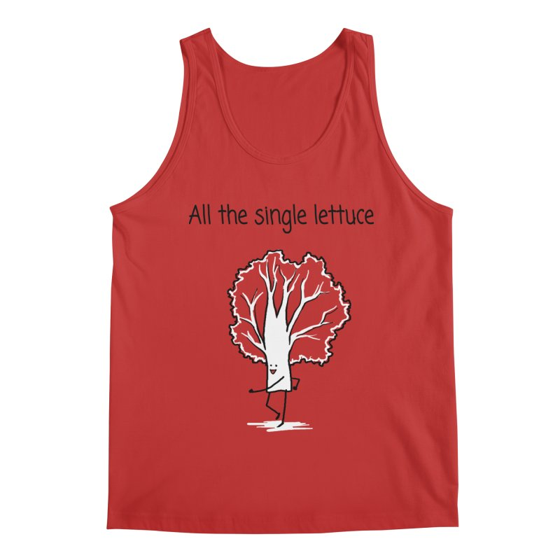 All the single lettuce Men's Regular Tank by 1 OF MANY LAURENS