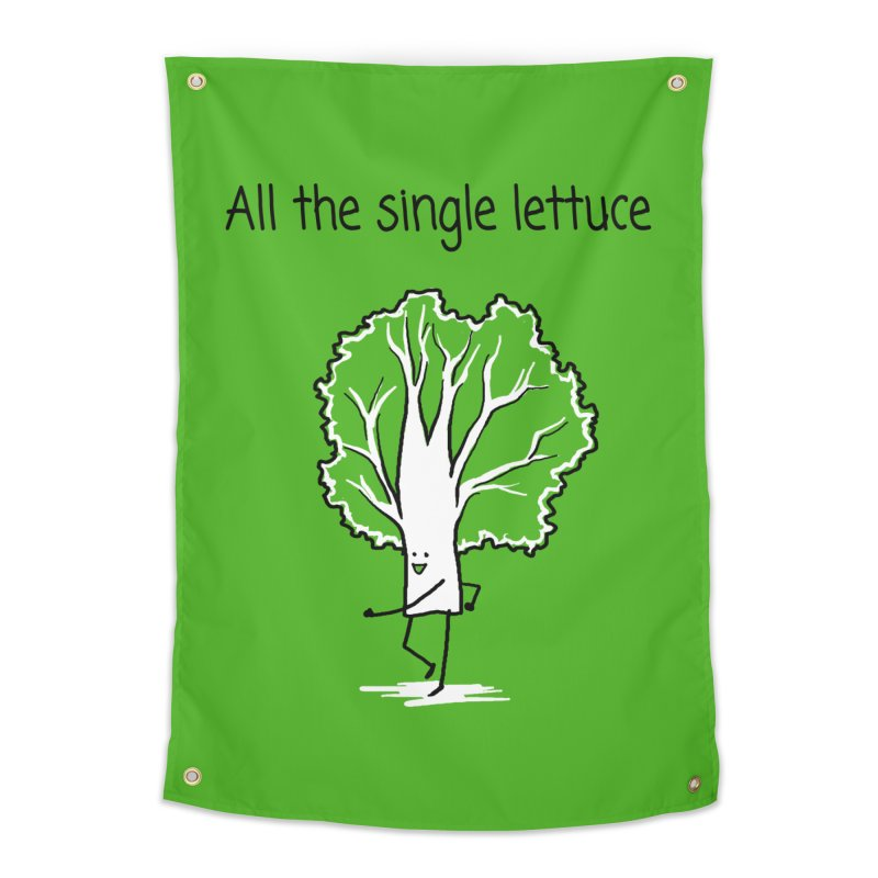 All the single lettuce Home Tapestry by 1 OF MANY LAURENS