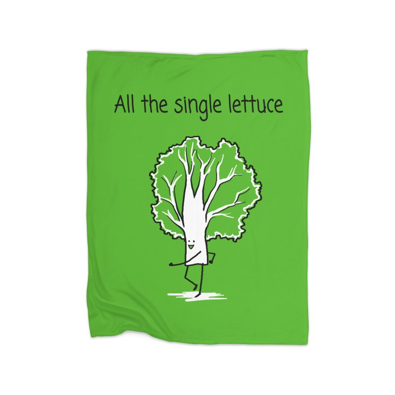 All the single lettuce Home Blanket by 1 OF MANY LAURENS
