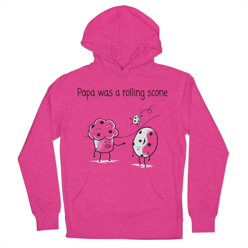 Papa was a rolling scone Men's Pullover Hoody by 1 OF MANY LAURENS