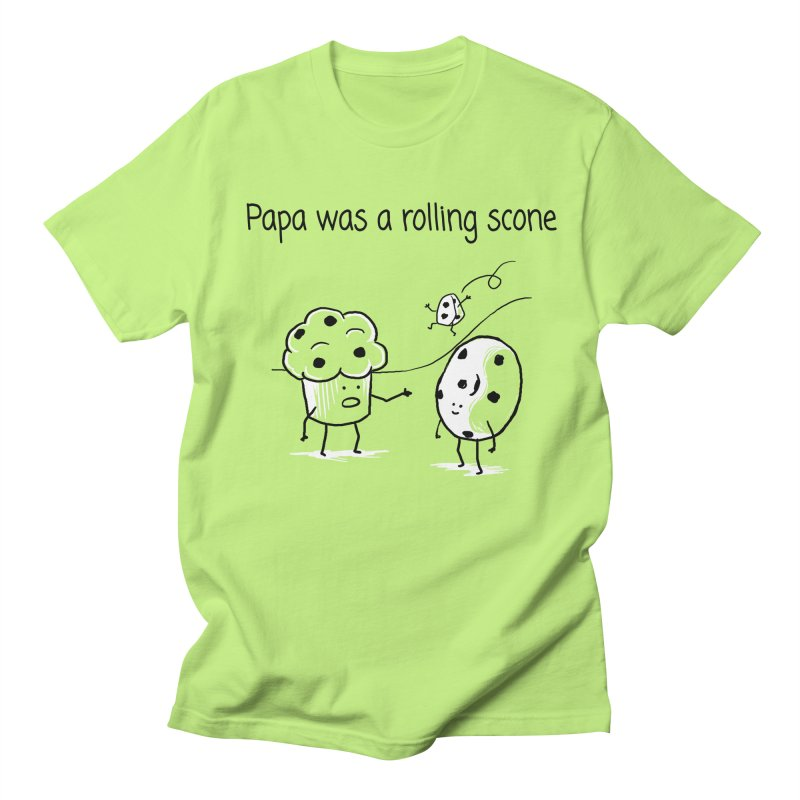 Papa was a rolling scone Men's Regular T-Shirt by 1 OF MANY LAURENS