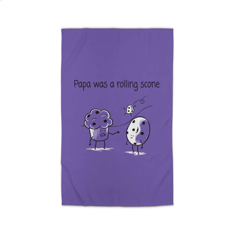 Papa was a rolling scone Home Rug by 1 OF MANY LAURENS