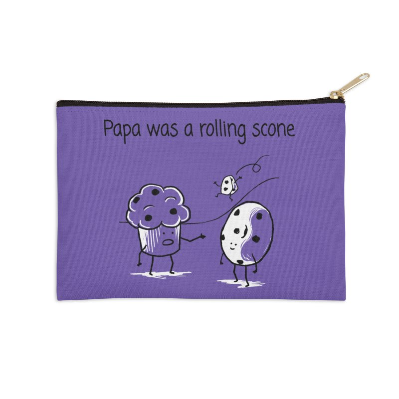 Papa was a rolling scone Accessories Zip Pouch by 1 OF MANY LAURENS