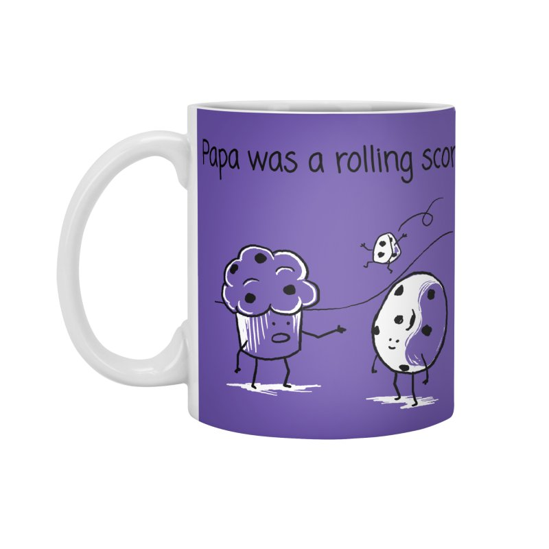 Papa was a rolling scone Accessories Mug by 1 OF MANY LAURENS