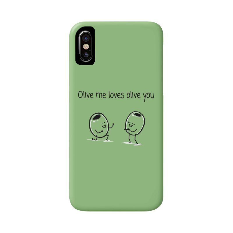 Olive me loves olive you Accessories Phone Case by 1 OF MANY LAURENS