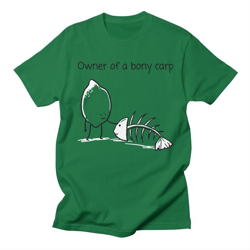 Owner of a bony carp Men's T-Shirt by 1 OF MANY LAURENS