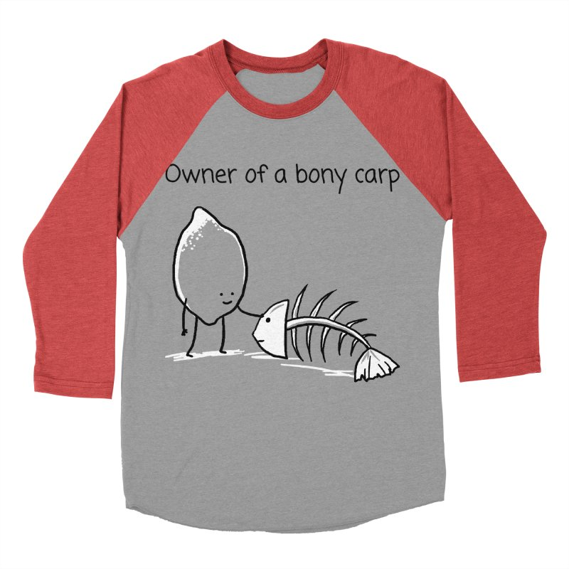 Owner of a bony carp Men's Longsleeve T-Shirt by 1 OF MANY LAURENS
