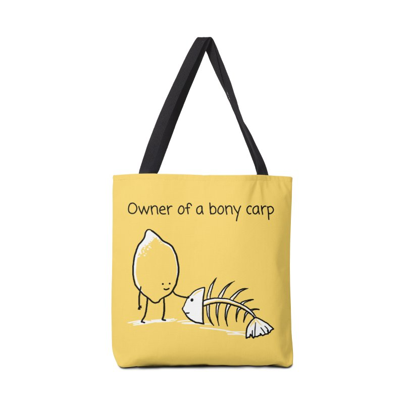 Owner of a bony carp Accessories Tote Bag Bag by 1 OF MANY LAURENS