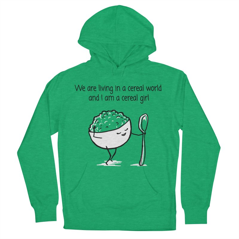 I am a cereal girl Men's Pullover Hoody by 1 OF MANY LAURENS
