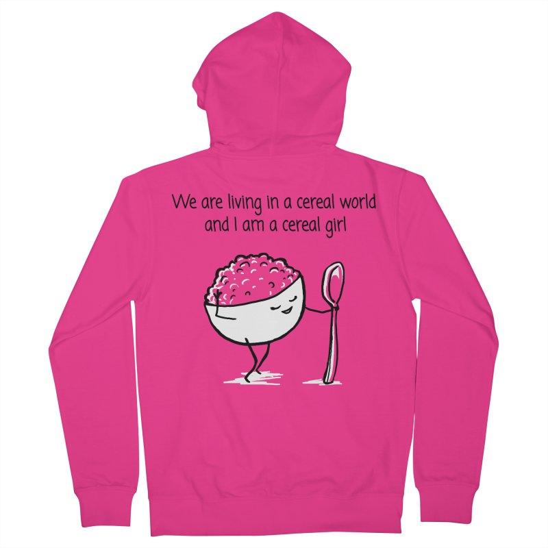 I am a cereal girl Men's Zip-Up Hoody by 1 OF MANY LAURENS