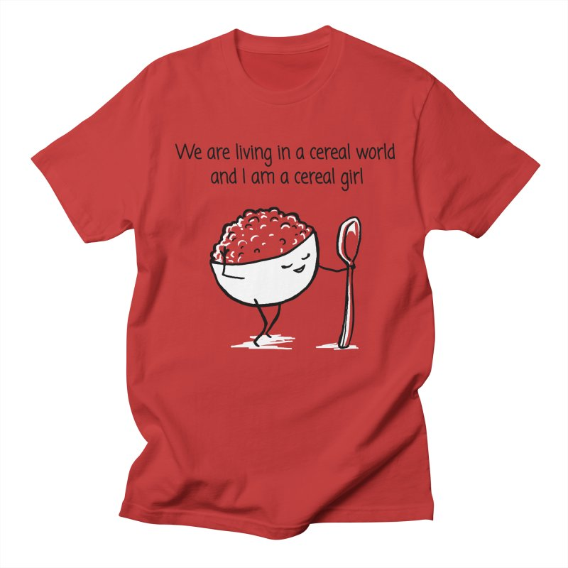 I am a cereal girl Men's T-Shirt by 1 OF MANY LAURENS