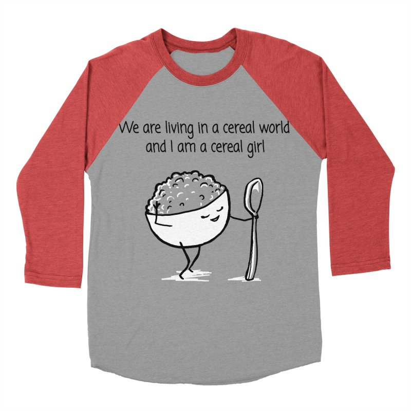 I am a cereal girl Women's Baseball Triblend Longsleeve T-Shirt by 1 OF MANY LAURENS