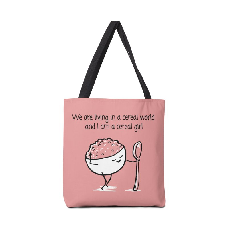 I am a cereal girl Accessories Tote Bag Bag by 1 OF MANY LAURENS