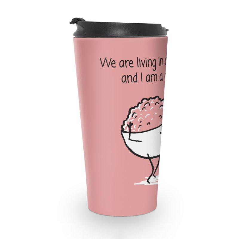 I am a cereal girl Accessories Travel Mug by 1 OF MANY LAURENS