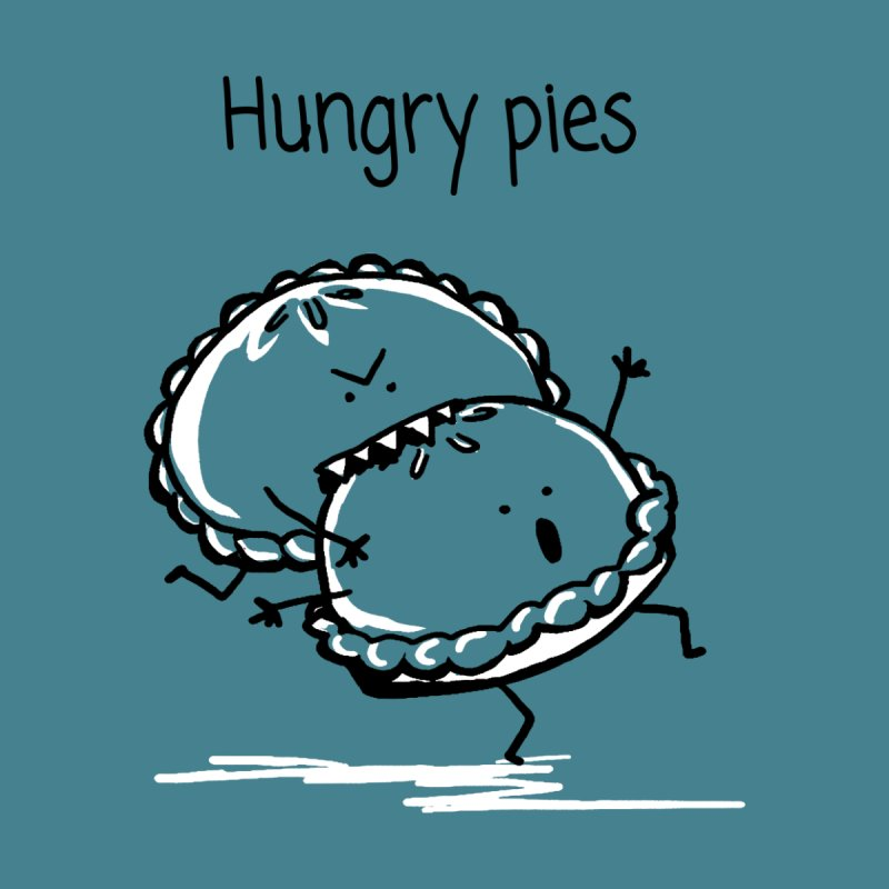 Hungry pies Men's Longsleeve T-Shirt by 1 OF MANY LAURENS