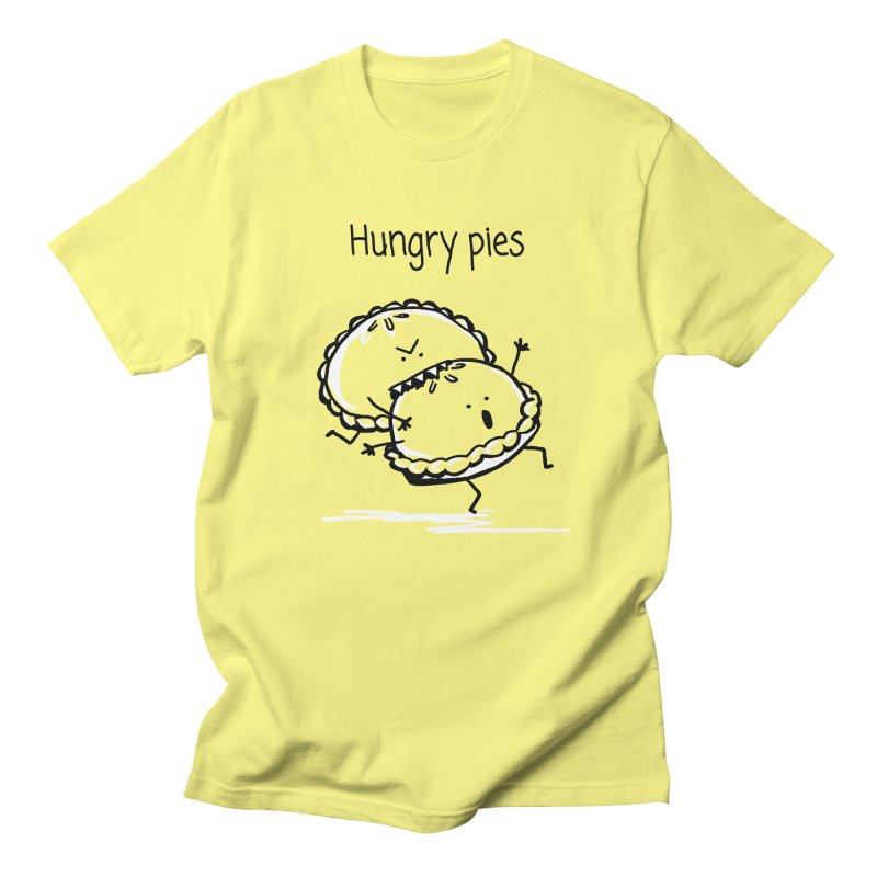 Hungry pies Men's T-Shirt by 1 OF MANY LAURENS