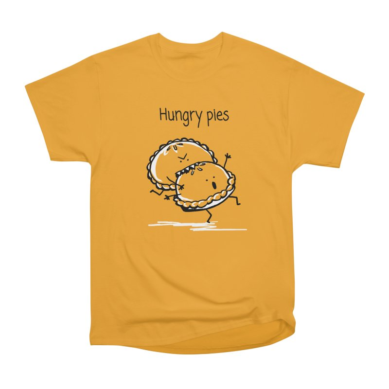 Hungry pies Men's Heavyweight T-Shirt by 1 OF MANY LAURENS