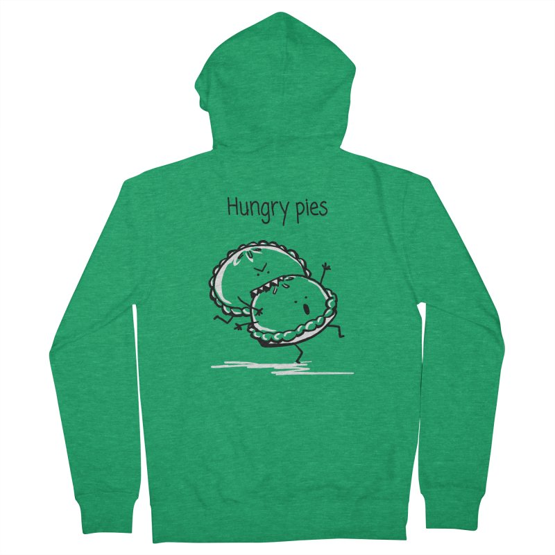 Hungry pies Men's Zip-Up Hoody by 1 OF MANY LAURENS