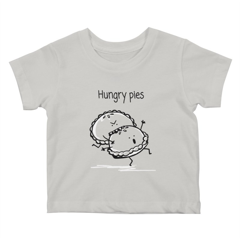 Hungry pies Kids Baby T-Shirt by 1 OF MANY LAURENS