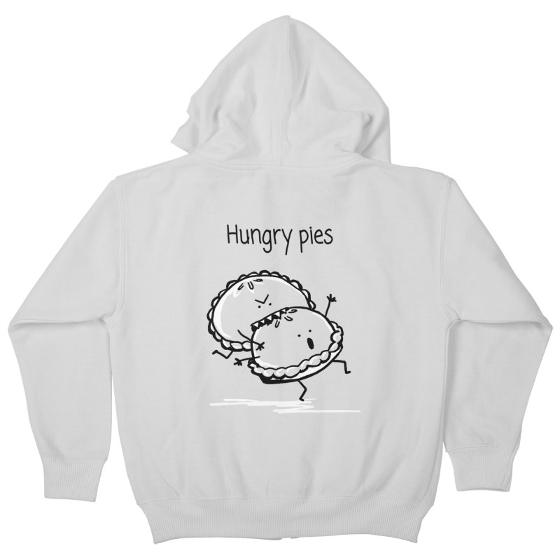 Hungry pies Kids Zip-Up Hoody by 1 OF MANY LAURENS