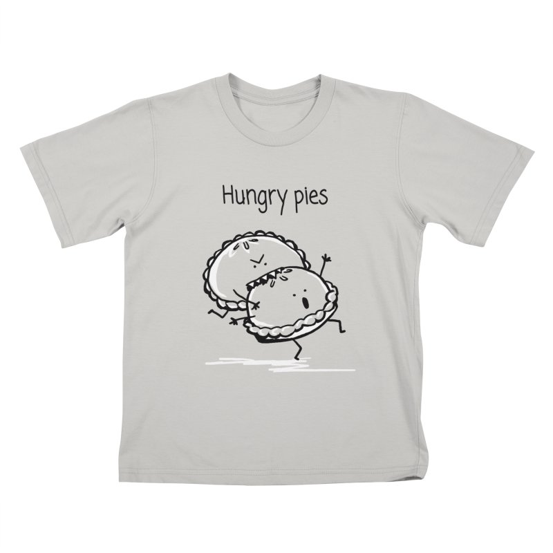 Hungry pies Kids T-Shirt by 1 OF MANY LAURENS