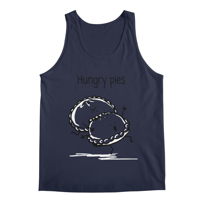 Hungry pies Men's Regular Tank by 1 OF MANY LAURENS