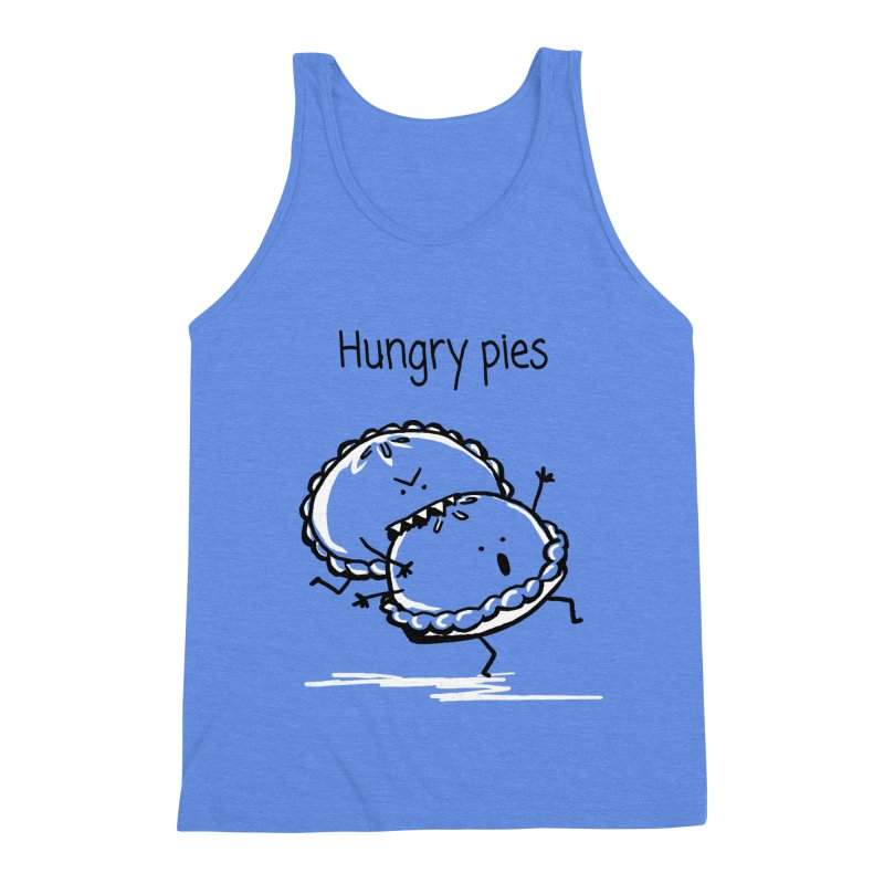 Hungry pies Men's Triblend Tank by 1 OF MANY LAURENS