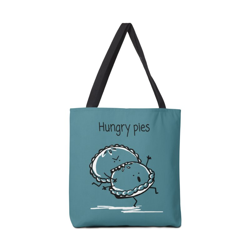 Hungry pies Accessories Tote Bag Bag by 1 OF MANY LAURENS