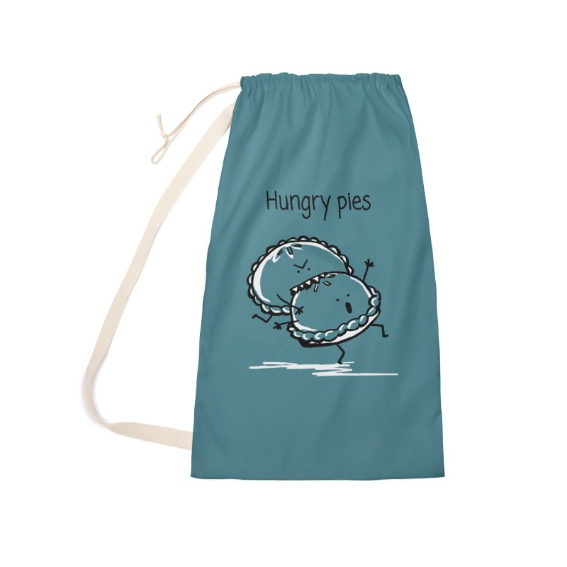 Hungry pies Accessories Laundry Bag Bag by 1 OF MANY LAURENS