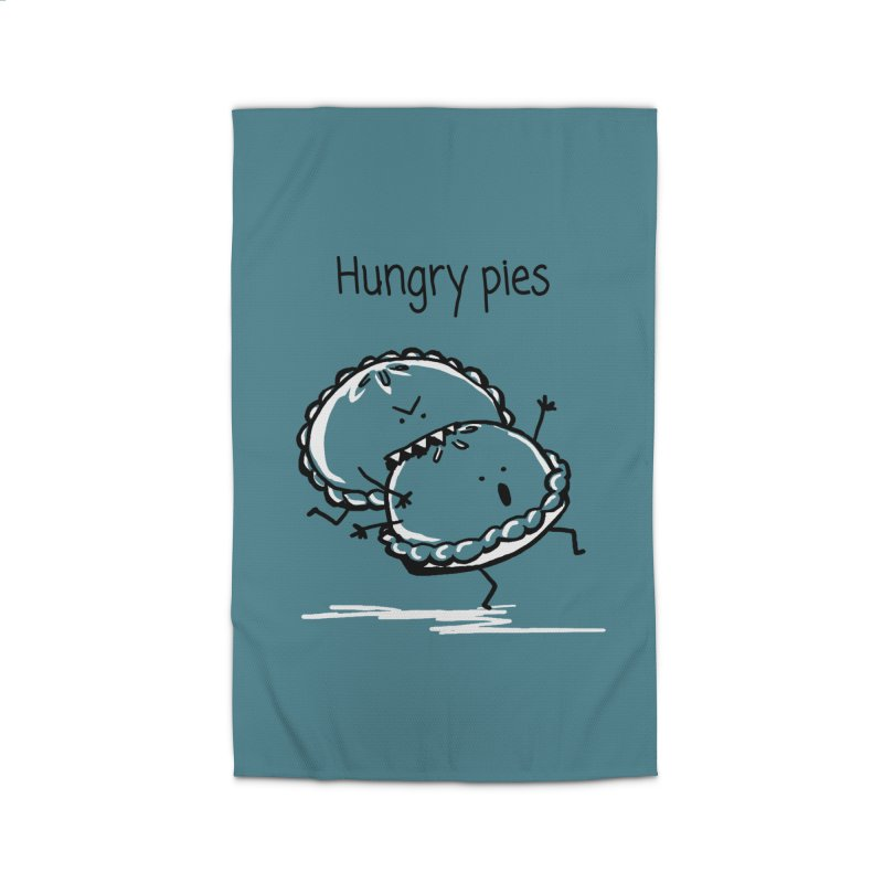 Hungry pies Home Rug by 1 OF MANY LAURENS