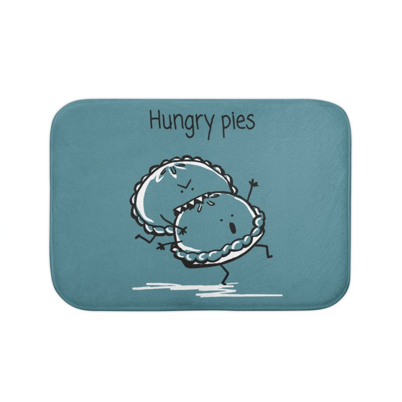 Hungry pies Home Bath Mat by 1 OF MANY LAURENS