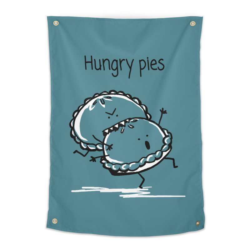 Hungry pies Home Tapestry by 1 OF MANY LAURENS