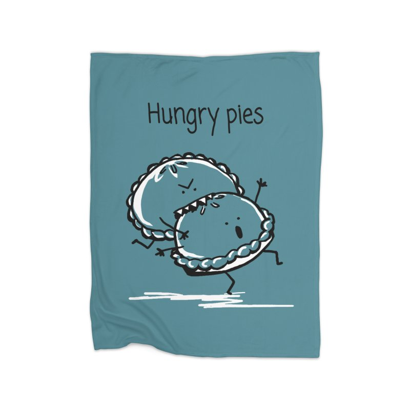 Hungry pies Home Blanket by 1 OF MANY LAURENS