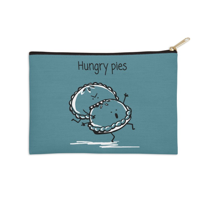 Hungry pies Accessories Zip Pouch by 1 OF MANY LAURENS