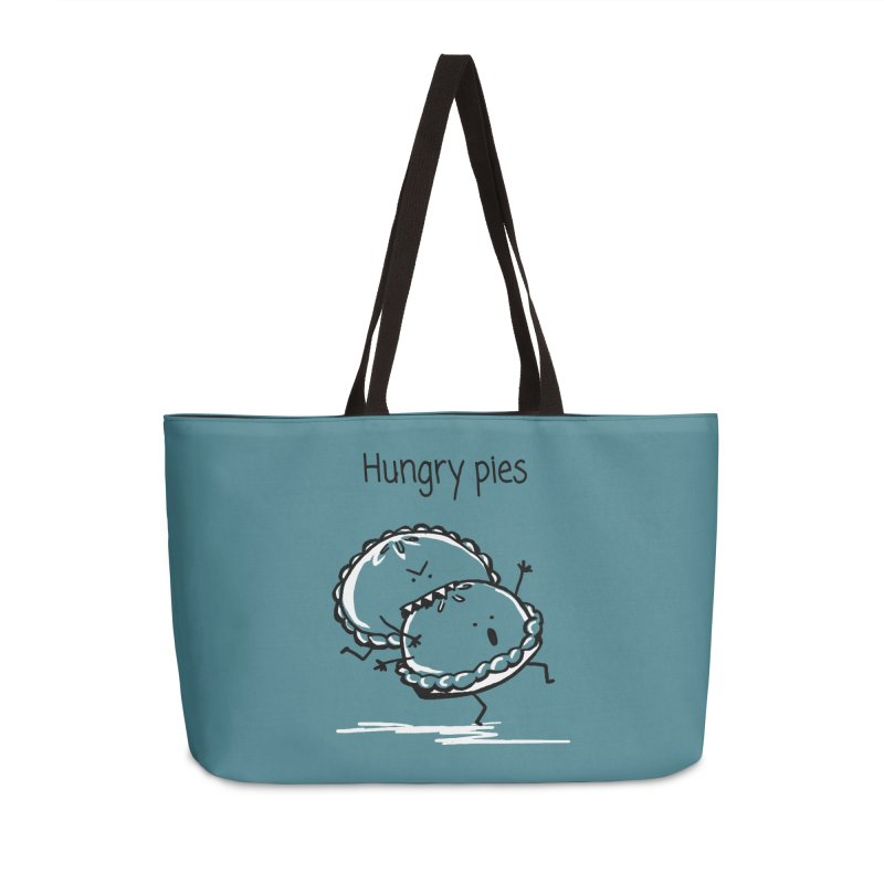 Hungry pies Accessories Weekender Bag Bag by 1 OF MANY LAURENS