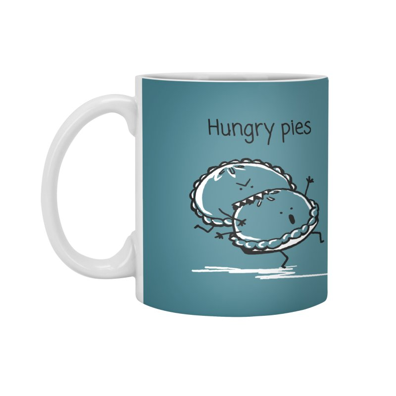 Hungry pies Accessories Mug by 1 OF MANY LAURENS