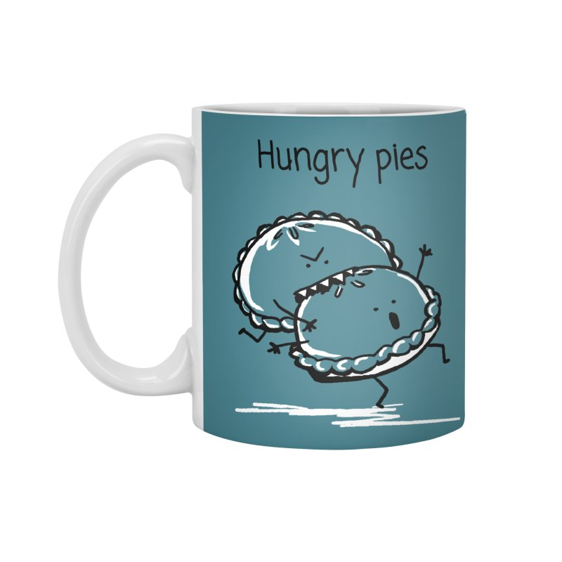Hungry pies Accessories Standard Mug by 1 OF MANY LAURENS