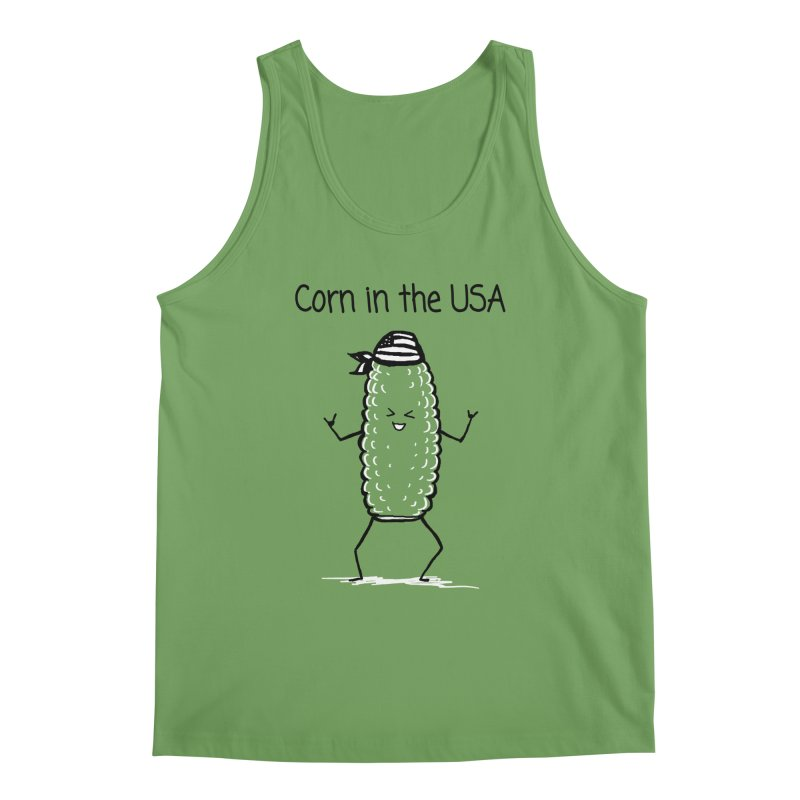 Corn in the USA Men's Tank by 1 OF MANY LAURENS