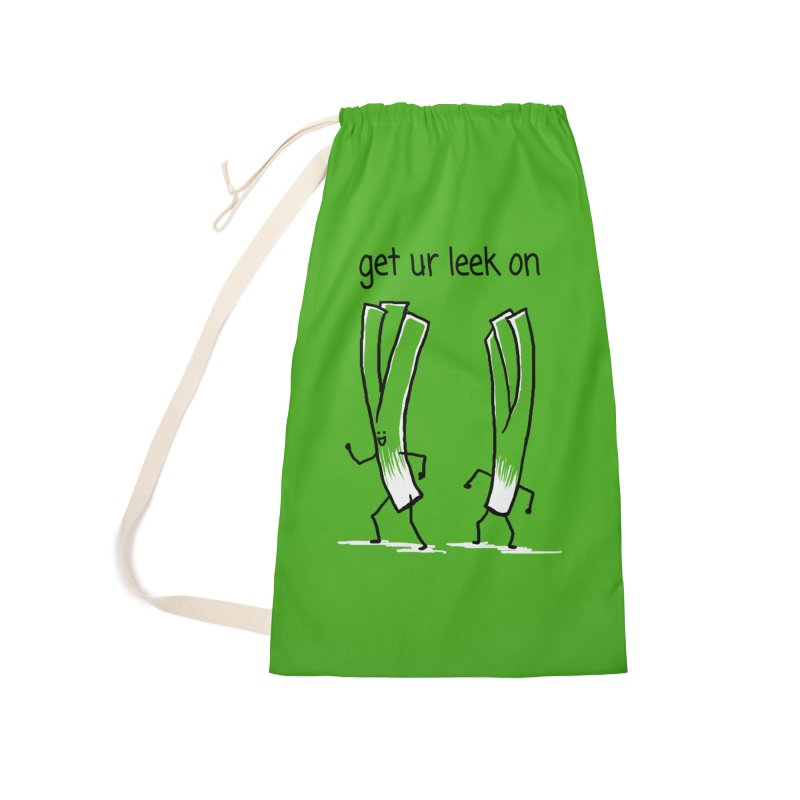 get ur leek on Accessories Laundry Bag Bag by 1 OF MANY LAURENS