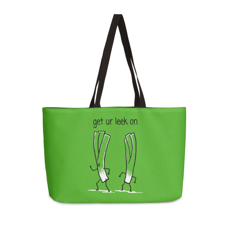 get ur leek on Accessories Weekender Bag Bag by 1 OF MANY LAURENS