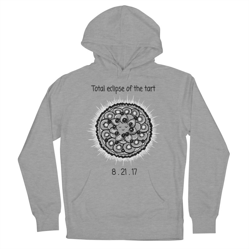 Total eclipse of the tart Men's French Terry Pullover Hoody by 1 OF MANY LAURENS