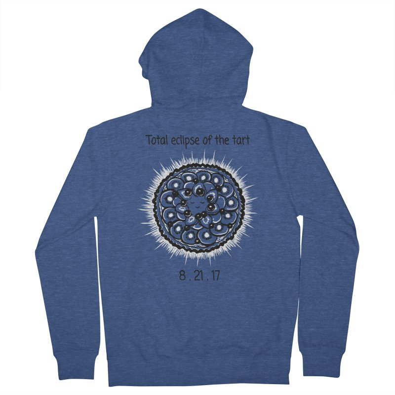 Total eclipse of the tart Women's French Terry Zip-Up Hoody by 1 OF MANY LAURENS