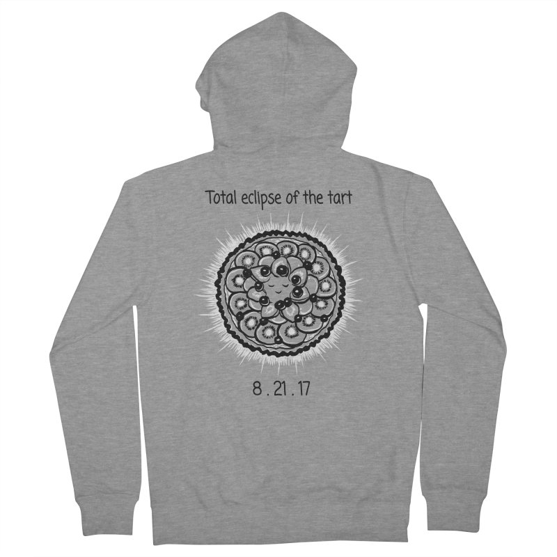 Total eclipse of the tart Men's French Terry Zip-Up Hoody by 1 OF MANY LAURENS