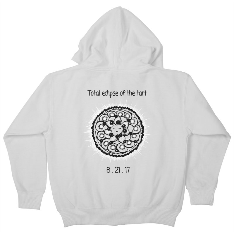 Total eclipse of the tart Kids Zip-Up Hoody by 1 OF MANY LAURENS