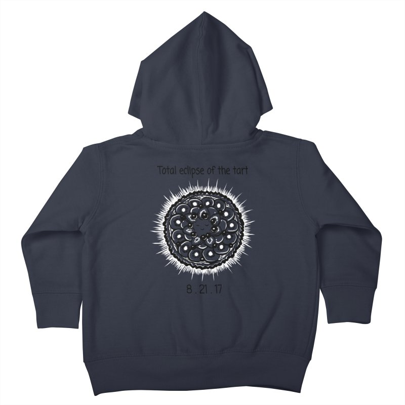 Total eclipse of the tart Kids Toddler Zip-Up Hoody by 1 OF MANY LAURENS